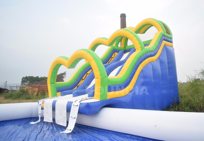 Inflatable Pool Water Park With Slides For Beach ActivitiesChina