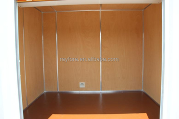 Two Side Door Cheap And Beautiful Open Side Container Rolling