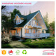 Hot selling Wooden Villa Log House with Low Price Made in China KPL-019