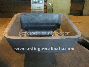 Aisi8630 Alloy Steel Aluminum Ingot Mold Sow Mold Skim Pan Dross Pan