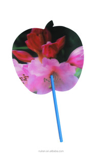Eco-friendly 3D lenticular hand fans bulk