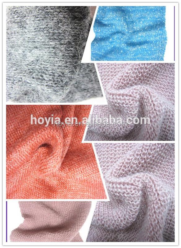 Factory Wholesale Cone Dyed Knitting Machine Brush Wool Yarn,Wool ...