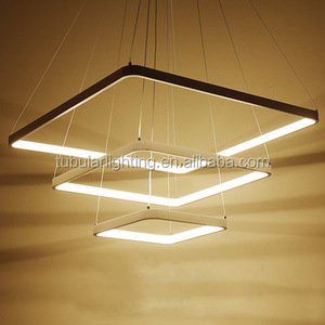 24W 72W 96W Dimmable modern led pendant light chandelier Zhongshan
