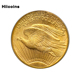 Factory Wholesale Quality Metal Coin Custom Fake Gold Eagle Replica Coins