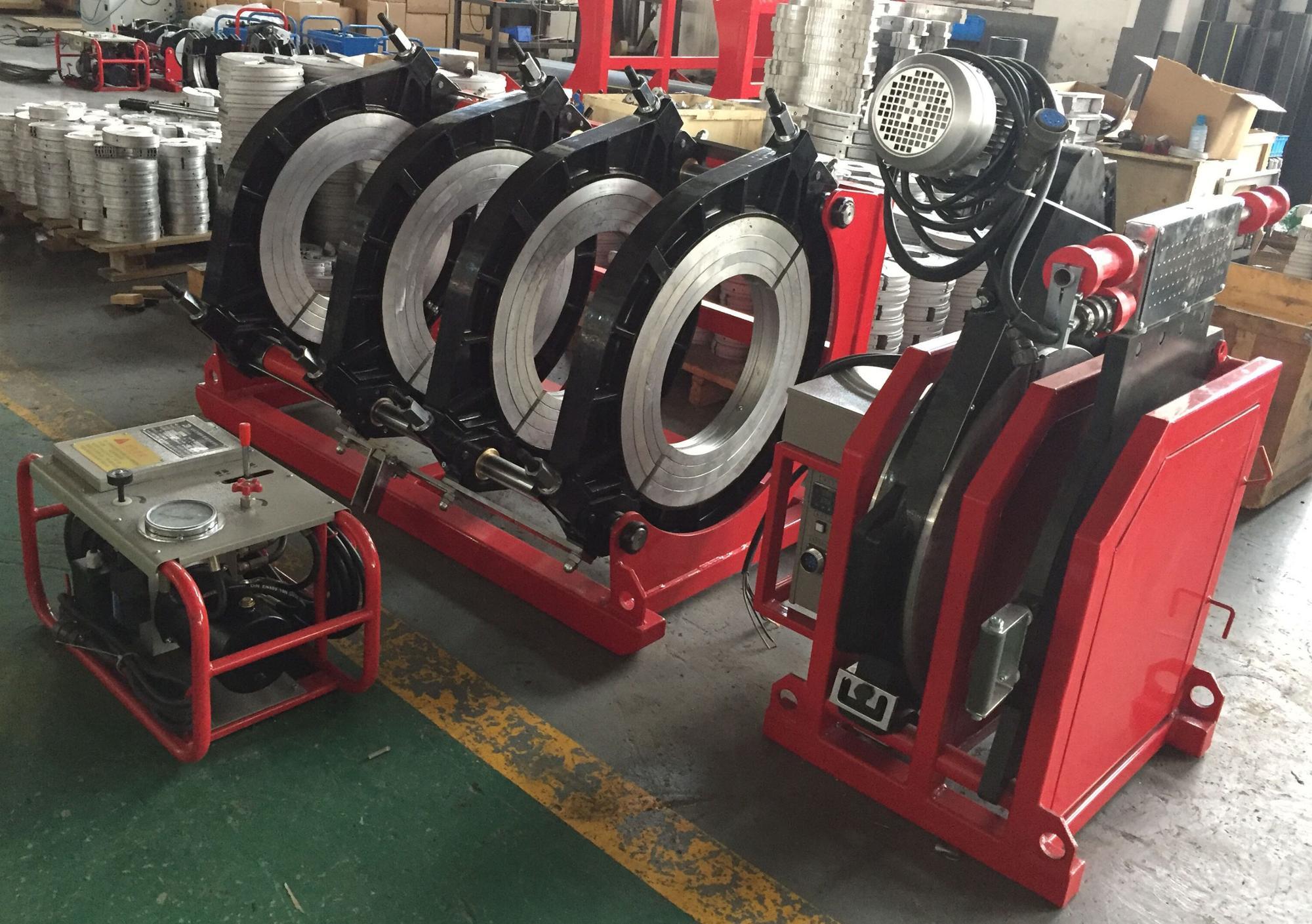 SDD630 Butt fusie lassen machine voor HDPE pijp butt weld montage machine