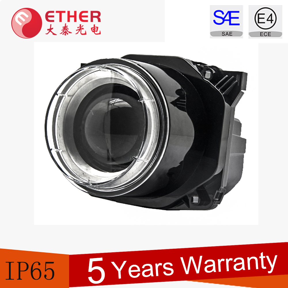 Approval ECE R112 / SAE J1383 90mm bus led head lights