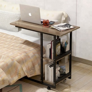 Household Portable laptop desk standing bedside table side dining desk