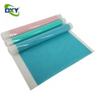 0.5mm Thickness Customized Size Silicone Rolls Blue Single-sided matte Silicone Mats
