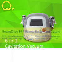 6 in 1 Ultrasonic Cavitation Vacuum Body Slimming Machine Weight Loss