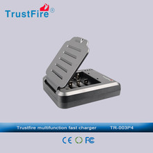 Original TrustFire 4 channels universal battery charger with US, EU, Australia or UK Plug for multi batteries