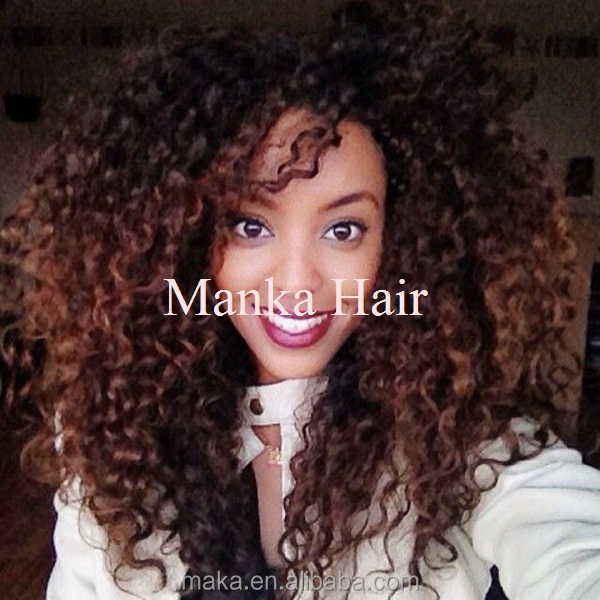 Natural kinky curly hair human wigs full lace ombre color wig natural kinky curly hair human wigs full lace ombre color wig brazilian hair side parting blonde urmus Images