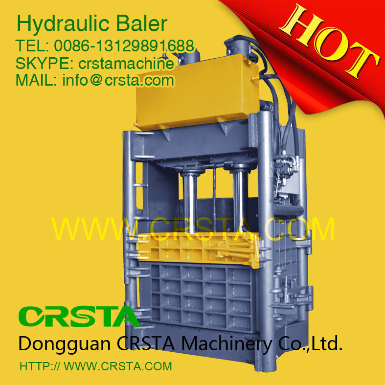 Hydraulic Baling press Machine,Vertical paper press baler