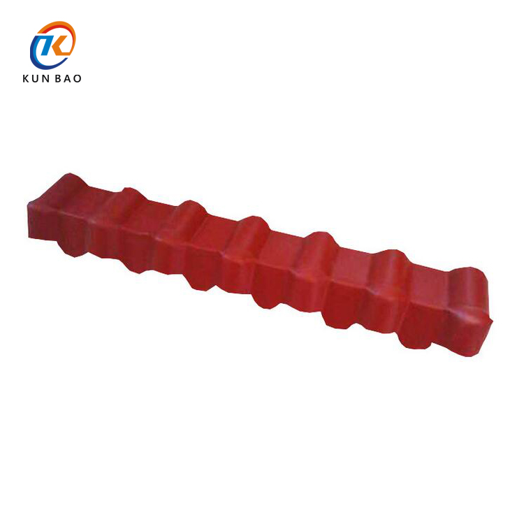 High quality building materials antique ASA plastic Spanish style synthetic resin roof tile accessory dripping eave / eave board