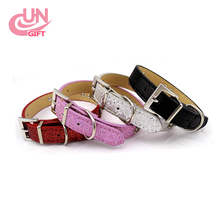 Best quality cheap beautiful fashion design leather rolled dog collar from factory