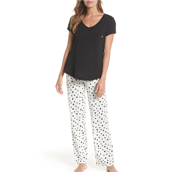 a96bf8cbf3 Sleeping Clothes For Ladies Button Up Pyjamas Ladies Summer Pajamas Womens