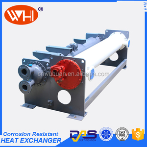 High Quality tube in tube heat exchanger water chiller titanium evaporator for 2 ton water chiller