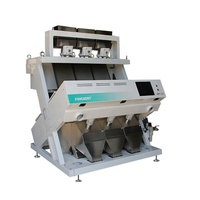 intelligent automatic CCD camera rice/peanut/cashew nut color sorter