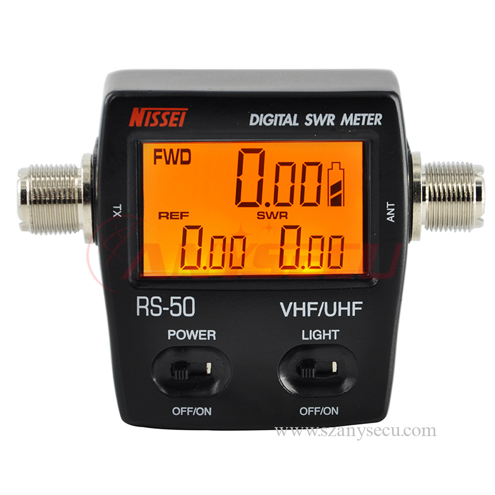 Digital Vu Meter : Vu meter nissel rs digital swr power mhz