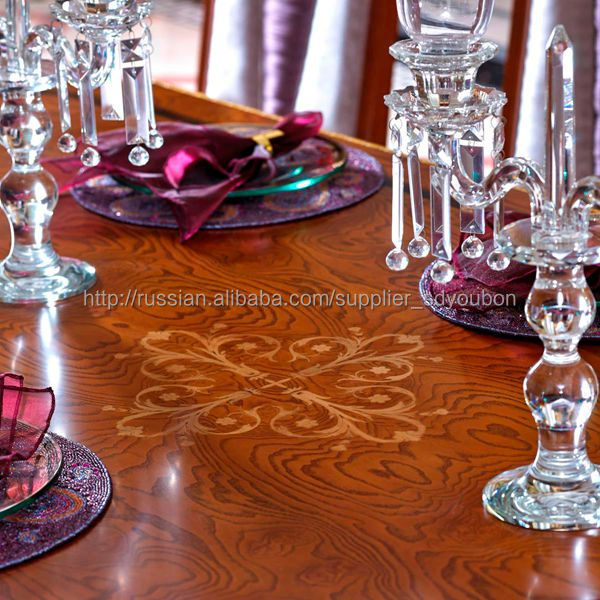 0038 Royal Furniture Solid Wood Dining Table And Chair
