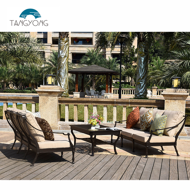 Excellent Quality Outdoor Metal Patio Furniture Sets