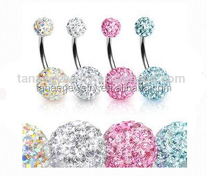 New style body piercing jewelry free belly button rings magnetic navel rings