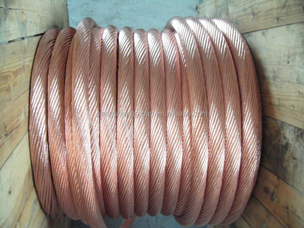 Astm Standard Stranded Bare Copper Wire 4/0awg Awg2/0 - Buy Bare ...
