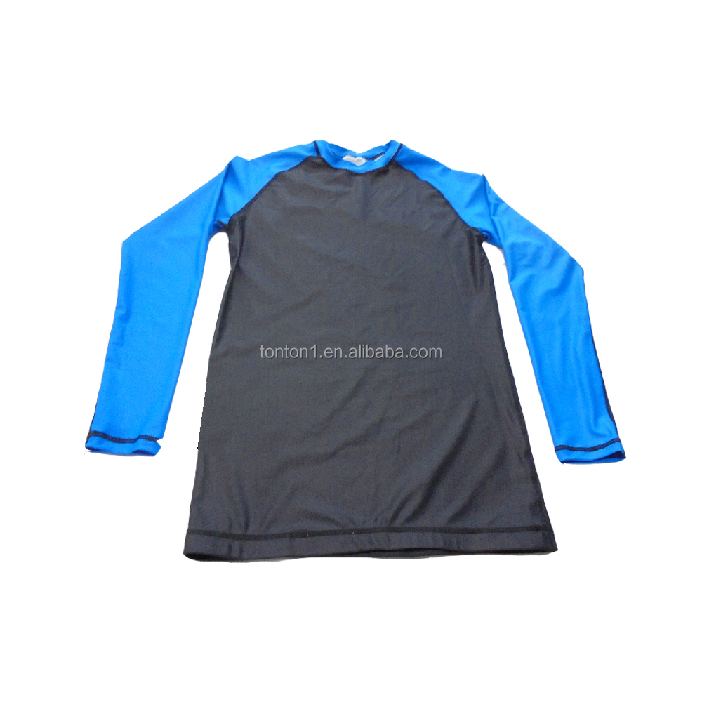 Wholesale new design rash guard custom logo compression rash guard