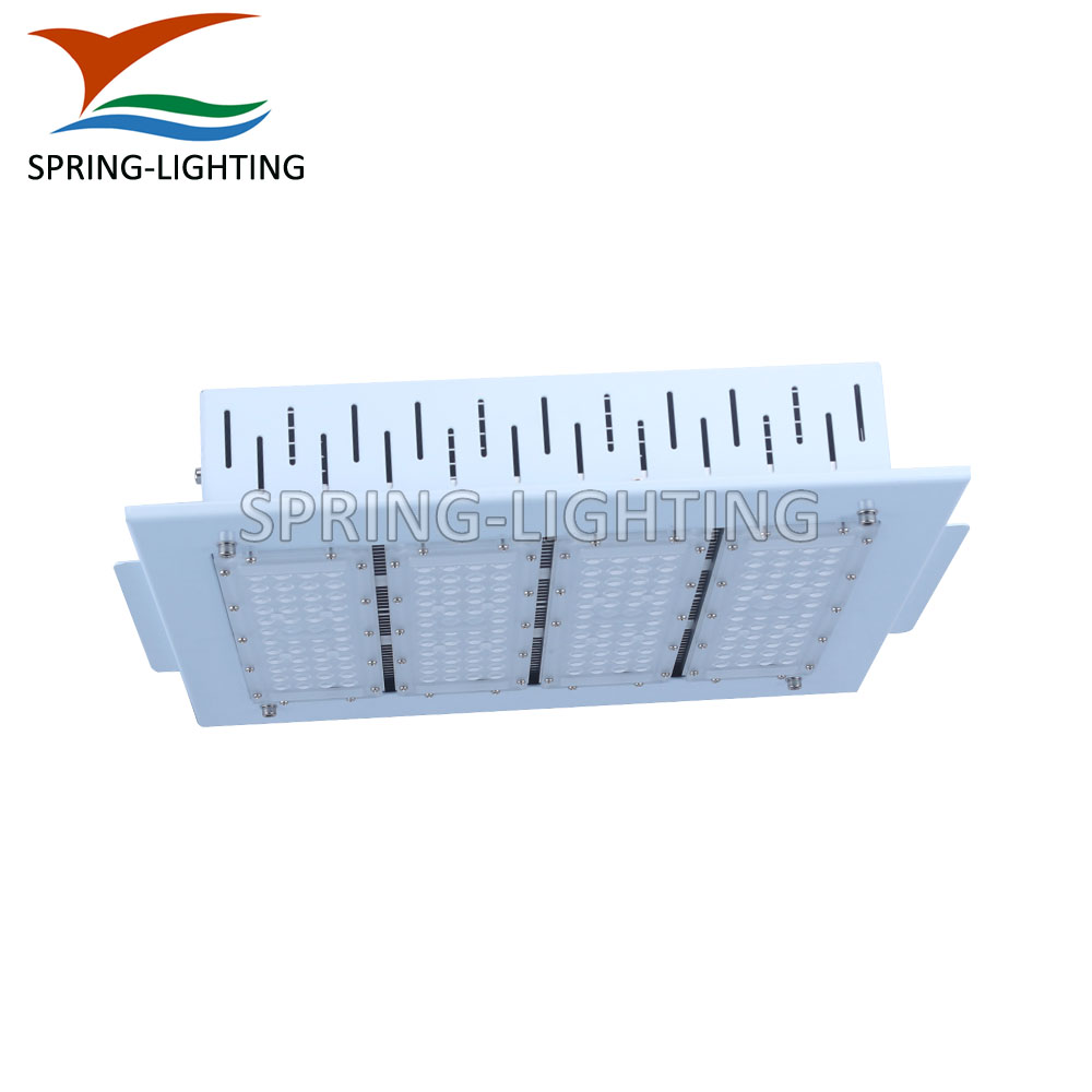 Surface recessed mount ceiling installation 200w gas station led canopy light