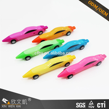 Cartoon mini Car Shape novelty plastic ballpoint pen for sale