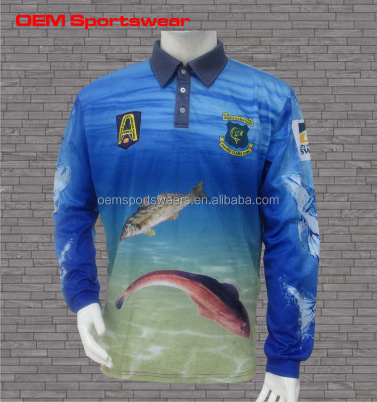 Wholesale best hot sale fishing shirts custom made buy for Fishing jerseys for sale