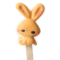 Nicole M0054 Rabbit 3D Silicone Molds For Ice Cream Making Lollipop Mould