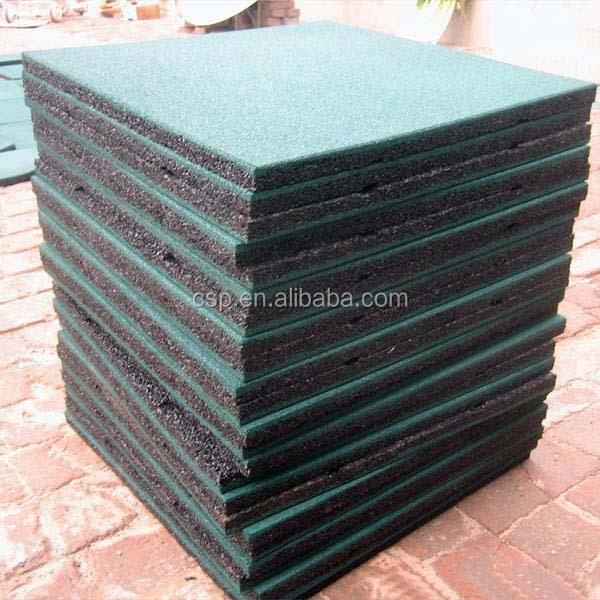 40mm Rubber FloorWholesale Gym MatsGreen Plastic Garden Mat