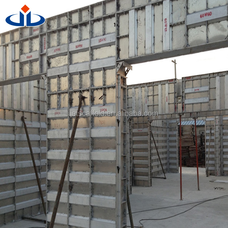 Durable Concrete Rammed Earth Formwork Concrete Countertops Forms  Construction Materials With Aluminium Formwork System   Buy Aluminium  Formwork ...