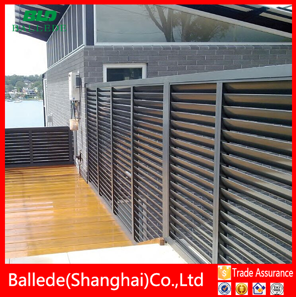 Aluminium Slat Amp Louvered Fencing Buy Louvered Fencing