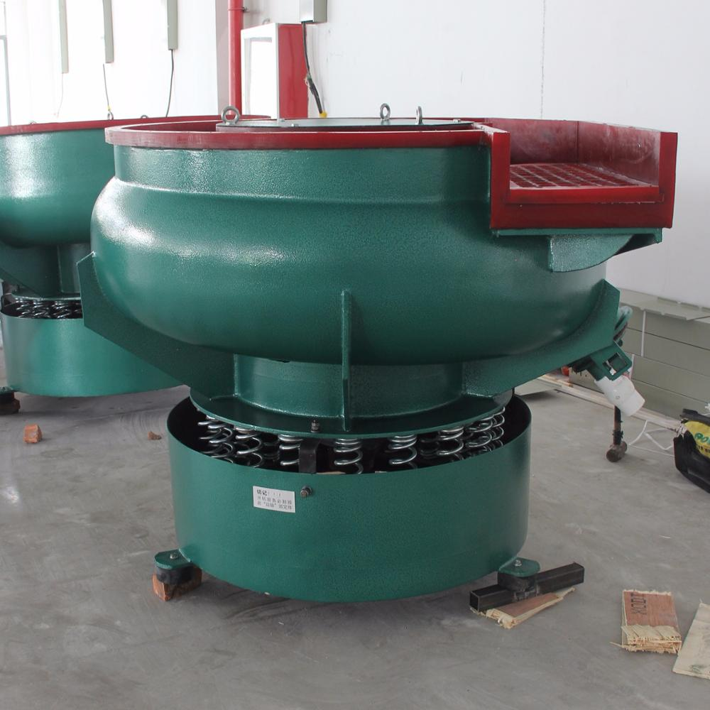 Vibratory Polishing Deburring Tumbler Machine With Automatic Separator