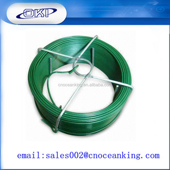 Baling Wire Plastic Coated Spring Wire Pvc Coated Wire - Buy Pvc ...
