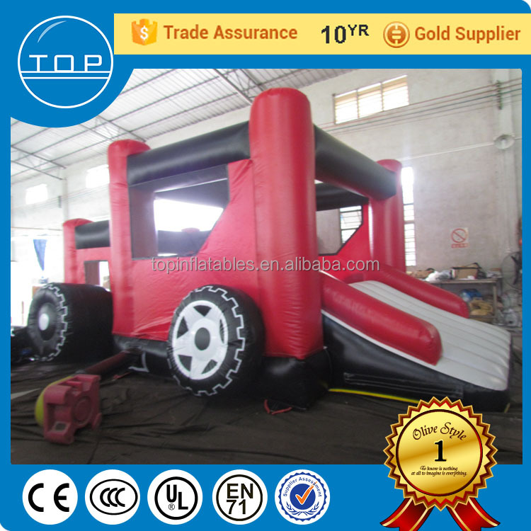 Guangzhou supplier combo spiderman inflatable bounce house bouncy castle for kids with EN14960