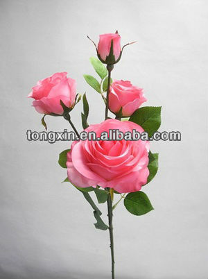 purchasing look realistic handcraft artificial flower rose