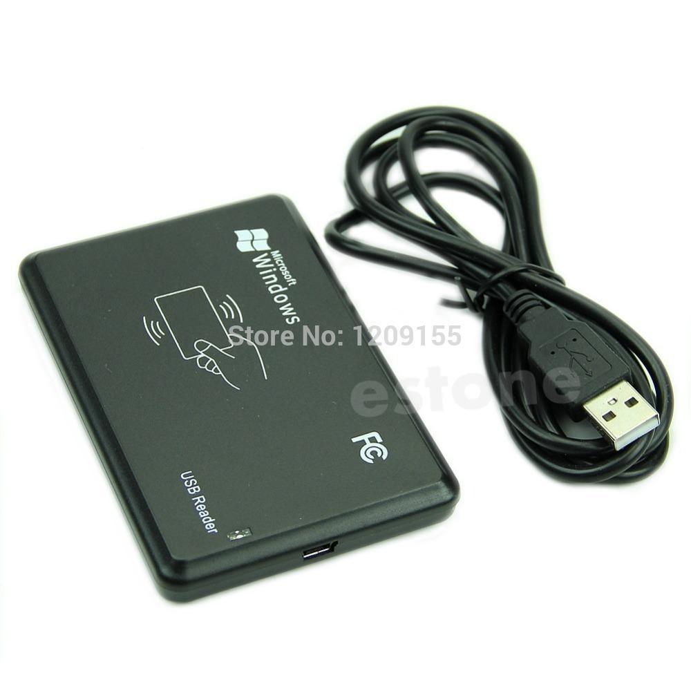 1 шт. USB RFID бесконтактный датчик смарт-карт ID кард-ридер 125 кГц EM4100 Window7