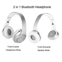 Small fast selling telephone headband bluetooth headset in ear