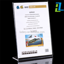 Acryl <span class=keywords><strong>Menu</strong></span> Houder/Tafel Display Stand tablet stand A4
