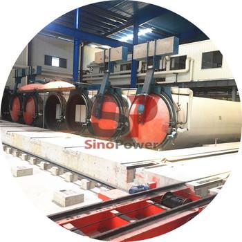 China South Africa Precast Concrete Block Plant AAC/Alc