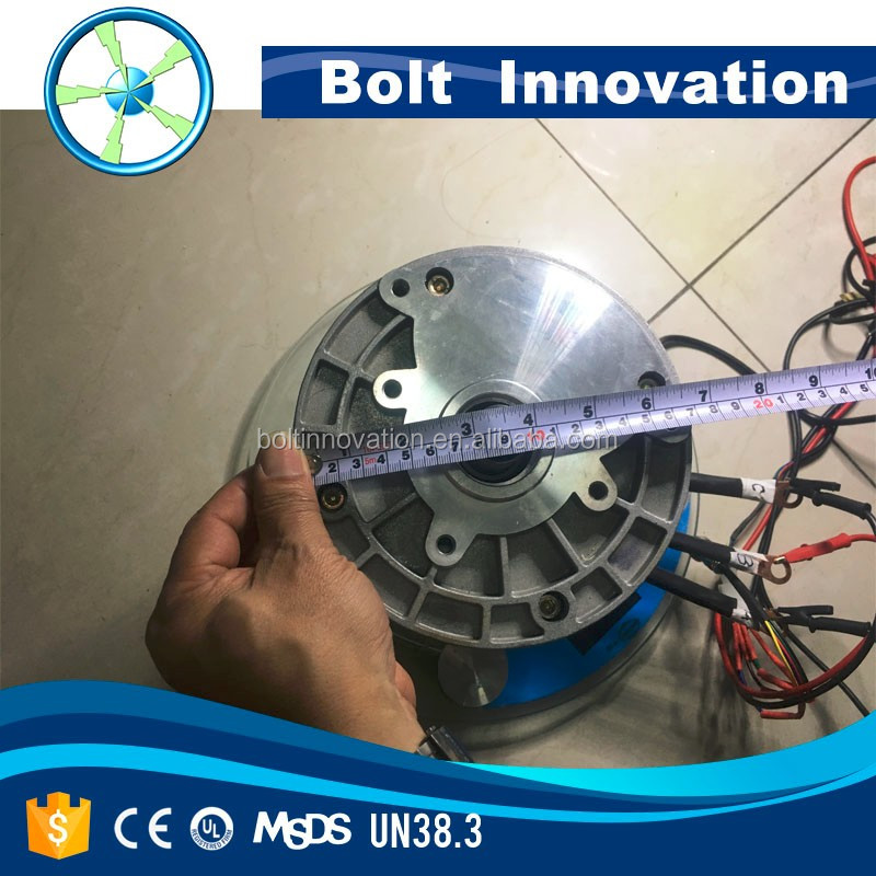 Bolt innovation 3kw to 20kw electric permanent magnet for 3kw brushless dc motor