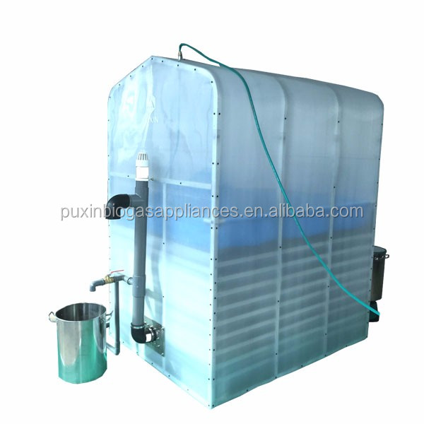 2016 new design portable assembly digester/biogas plant/cooking fuel