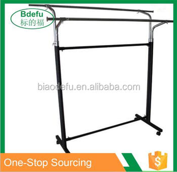 wholesale cheap price clothes rail garment display rack. Black Bedroom Furniture Sets. Home Design Ideas