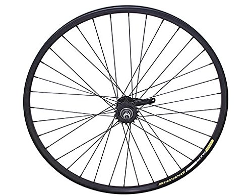 "Lowrider 29"" Alloy Coaster Wheel 36 Spoke 14g Black 3/8 AXLE Black. bike part, bicycle part, bike accessory, bicycle accessory"