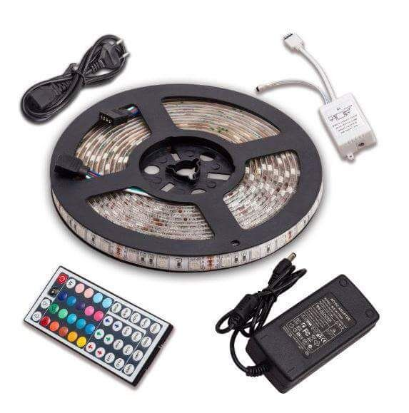 RGB LED Strip 5M/reel 300 SMD 5050 Waterproof + Remote Controller