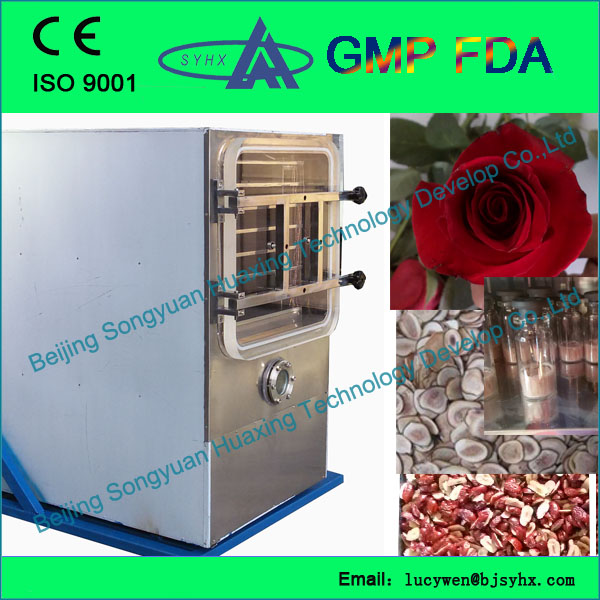 pre-freezing function fruit freeze dryer with lcd display drying curve