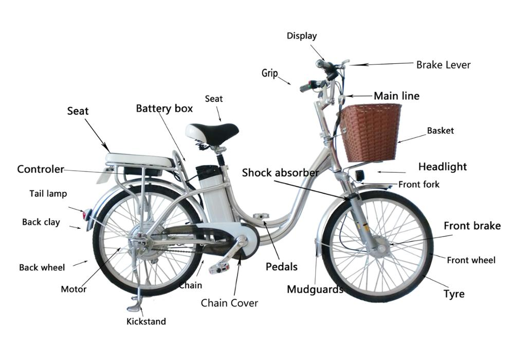 New Exquisite Two Wheels Per Charge Mileage Electric Bike