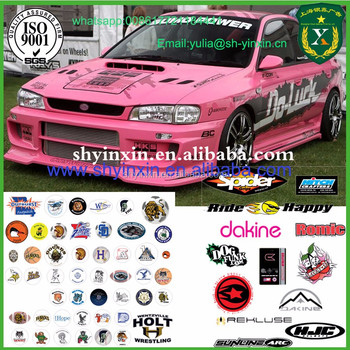 Custom Removable Vinly Stickers For Car Decorationpromotion - Promotional custom vinyl stickers for cars